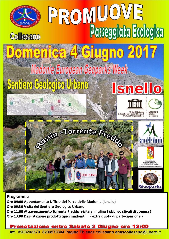 L�Anas organizza una passeggiata ecologica per esplorare le ricchezze di Isnello  (PA)