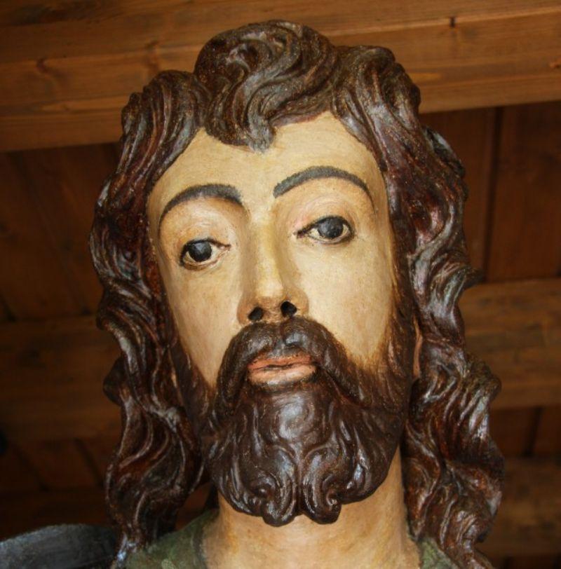 Termini Imerese. Restaurata la statua di San Rocco: una delle sculture più prestigiose del Cinquecento siciliano