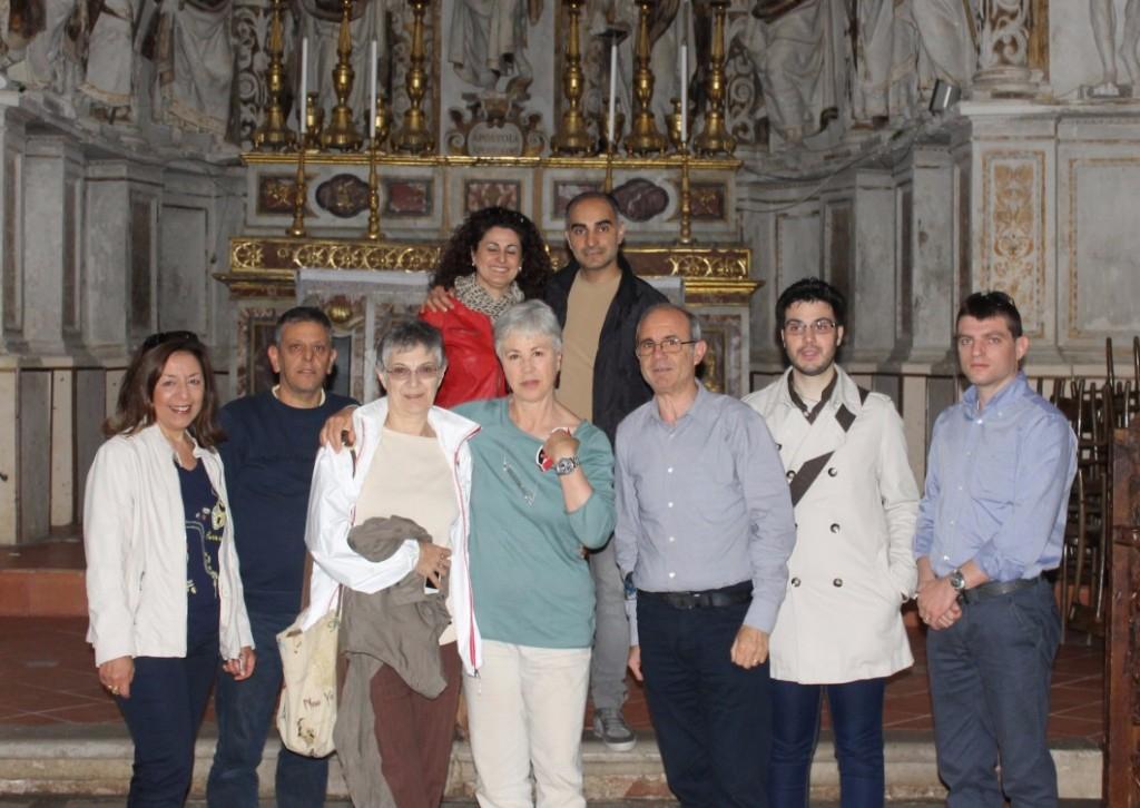 Ciminna, cinquant�anni dopo l�attrice Ottavia Piccolo, su invito di SiciliAntica, ha visitato la Donnafugata del film �Il Gattopardo� nel quale interpret� una delle figlie del Principe di Salina