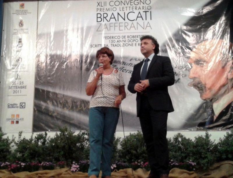 Premio Brancati dal 21 al 23 settembre 2012 a Zafferana Etnea