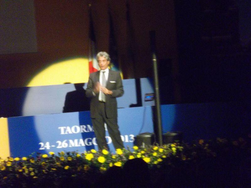 Tre grandi al 61 Convegno Nazionale dei LIONS a Taormina