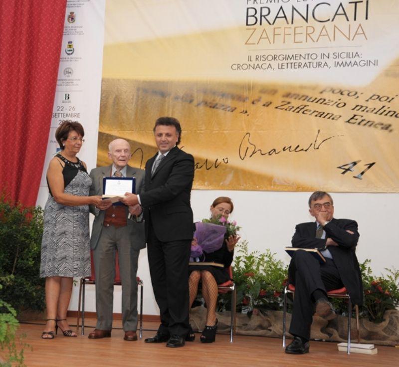 Zafferana Etnea, Premio Letterario Brancati Zafferana