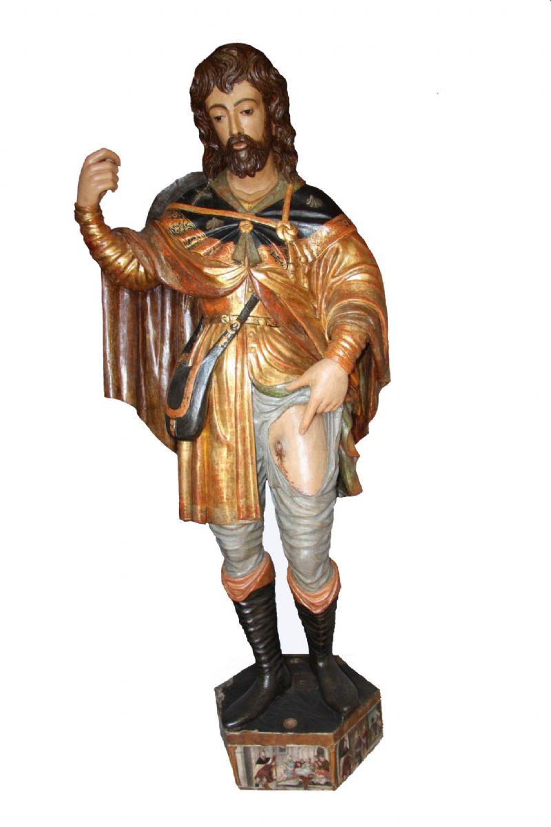 Termini Imerese. Si presenta alla città la cinquecentesca scultura di san Rocco dopo l�intervento di restauro