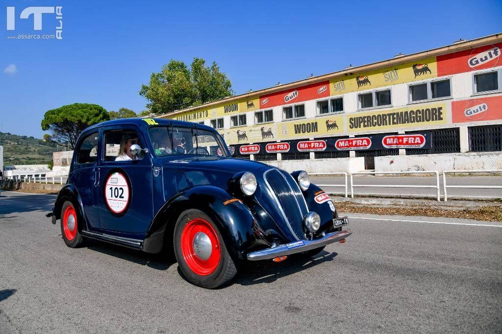 """Targa Florio Classica 2019 a Mario Passanante e Himara Bottini All`equipaggio del team MAFRA il premio """"Andrea Camilleri"""""""