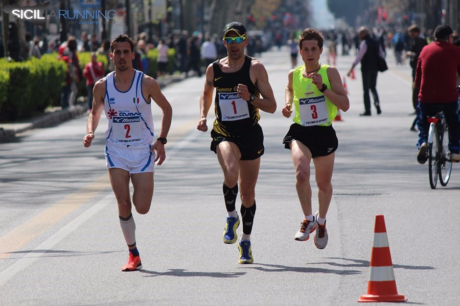 Vivicittà: classifica unica compensata. Yuri Floriani a Palermo  il più veloce al mondo, terzo Vincenzo Agnello