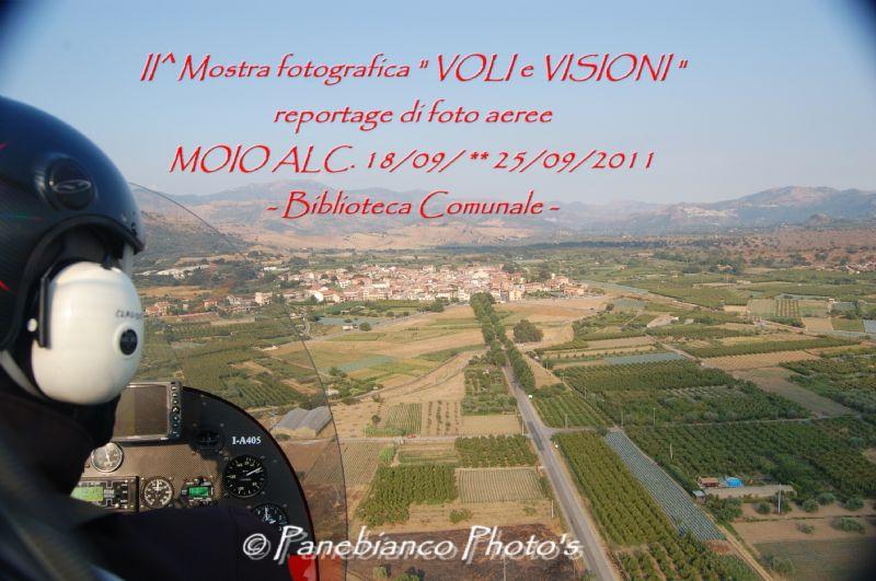 """MOIO ALCANTARA (ME) - Inaugurazione II° mostra fotografica """"VOLI e VISIONI"""""""
