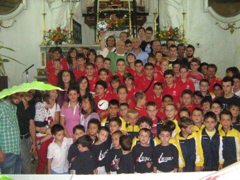 CASTRONOVO DI SICILIA (PA) - Benedizione per gli sportivi castronovesi