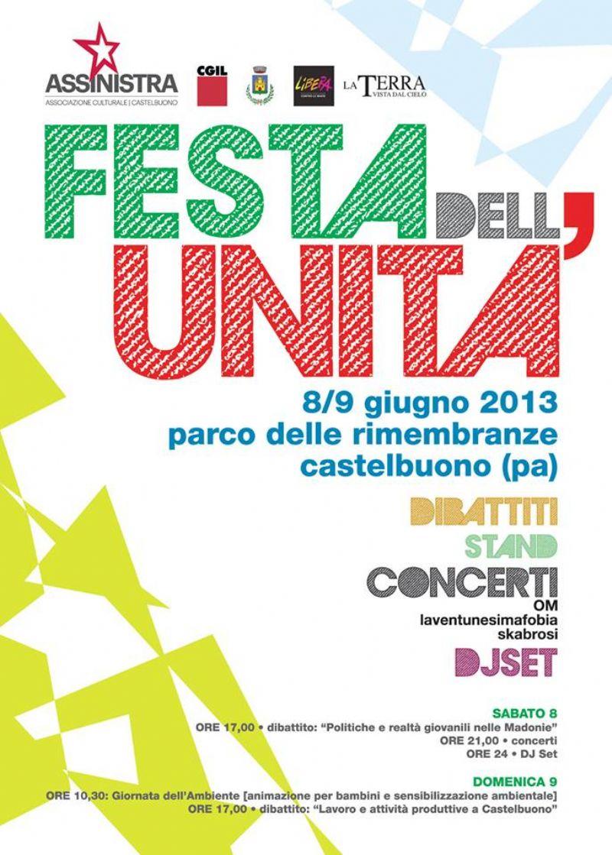 Festa dell`Unità Castelbuono 8-9 giugno 2013