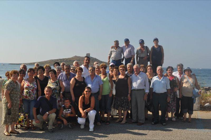 CASTRONOVO DI SICILIA (PA) - Anziani, visita a Carini e Isola delle Femmine