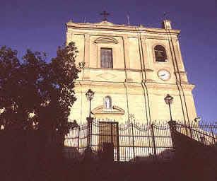 Alia - Fulmine colpisce la Chiesa Madre