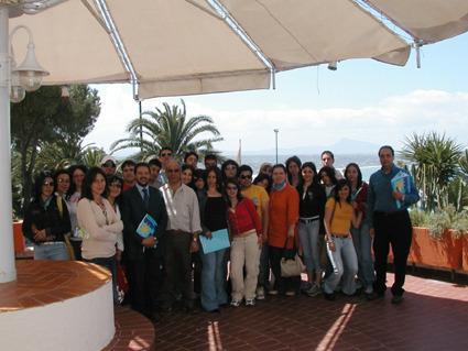 Terrasini, gli alunni dell`Itc di Alia a lezione d`impresa a Citt� del mare