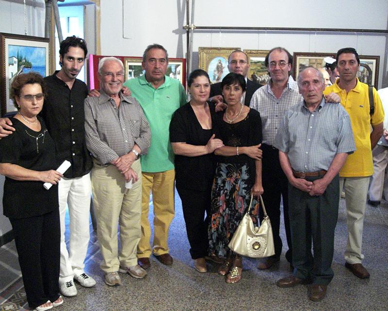 Alia, inaugurata collettiva di pittura
