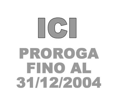 Proroga ICI.
