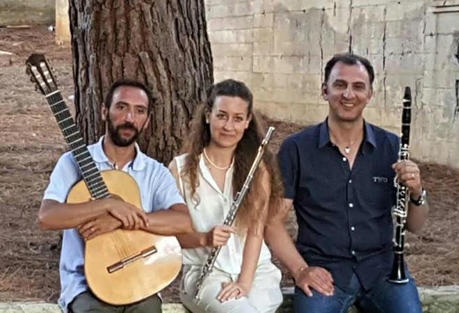 La musica del Trio Ethos al Castello di Roccella