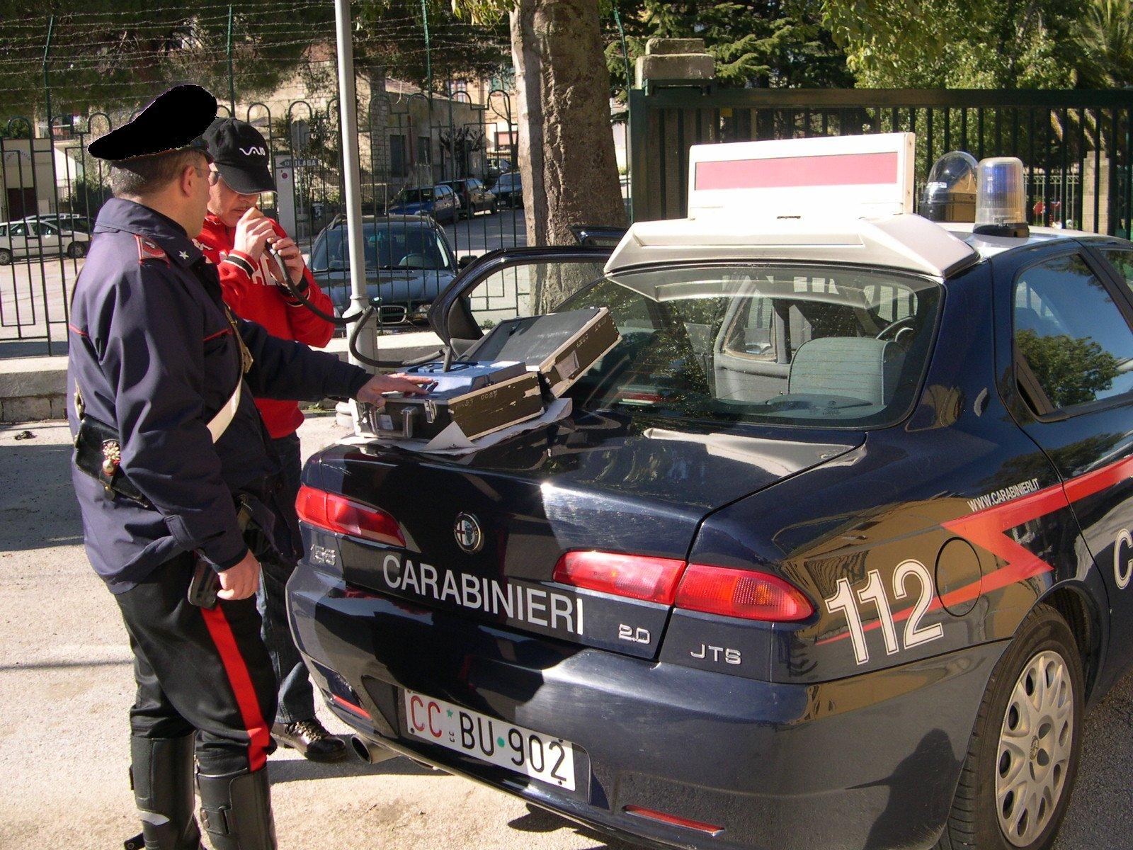 Lercara Friddi: Vasta operazione dei Carabinieri della compagnia di Lercara Friddi