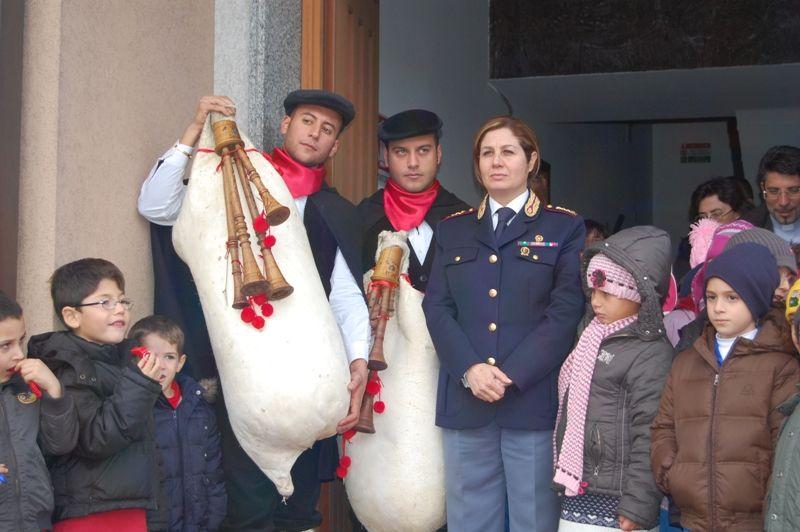Solenne celebrazione del precetto natalizio presso la sezione catanese della Polizia Stradale
