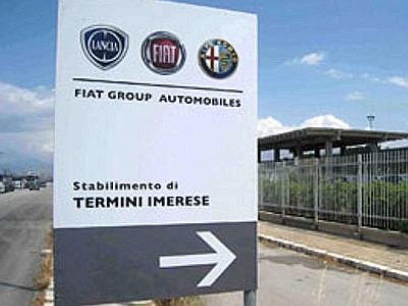 A Termini Imerese Fiat chiude in anticipo