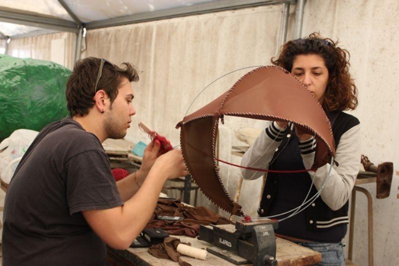 Progetto d`arte con i ragazzi dell`accademia di belle arti di Catania
