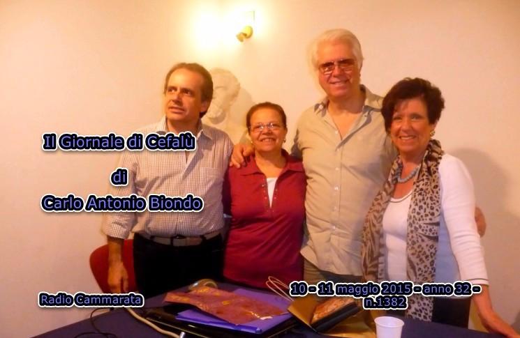 Giornale di Cefal�: Tumminello, Pizzillo, Pagliuso, Morello