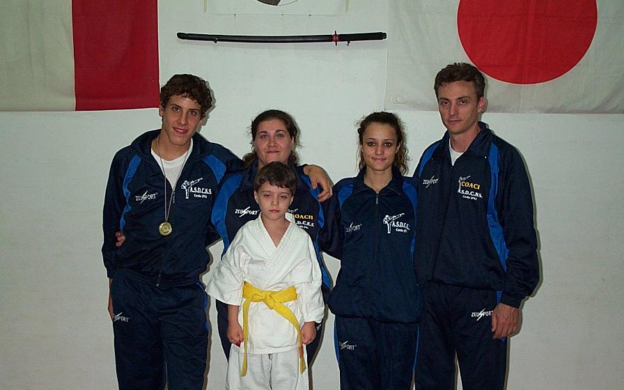 Karate, Emanuele ? il campione regionale
