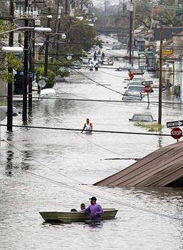 Uragano Katrina disagi per molti nostri concittadini