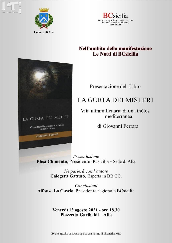 Alia, presentazione del libro
