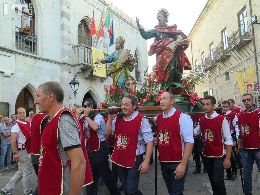 Petralia Soprana. Entrano nel vivo i festeggiamento dei patroni S.s. Pietro E Paolo