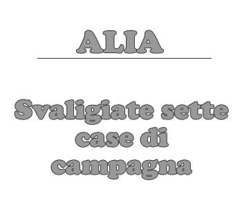 Alia, svaligiate sette case di campagna.