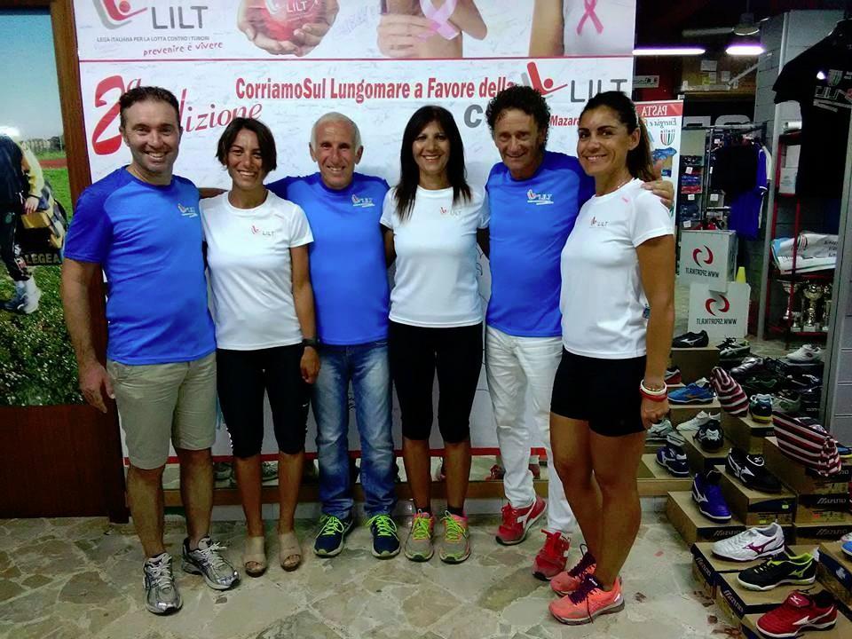 Podismo e Solidarietà: A Mazara del Vallo tutti di corsa per la LILT al grido �Prevenire è Vivere�