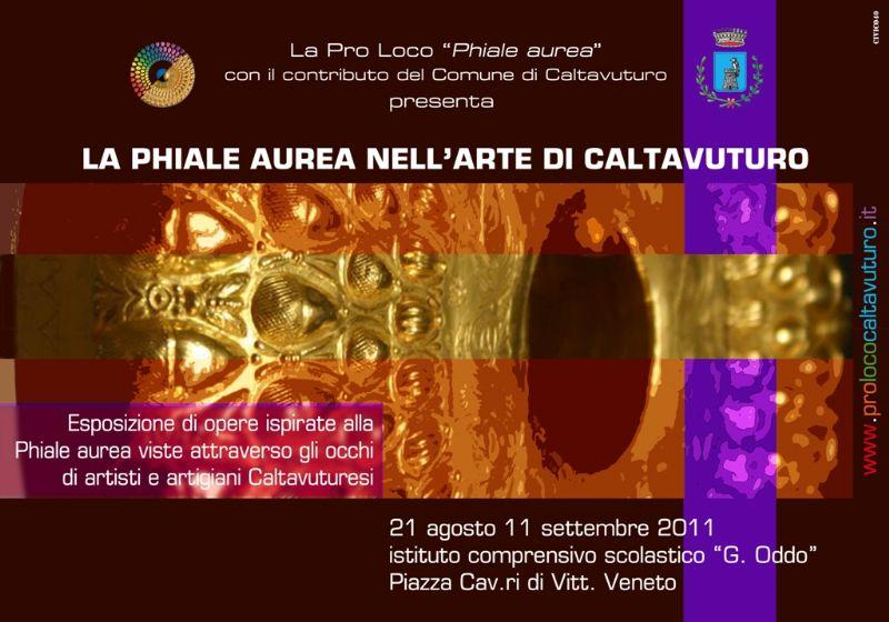Caltavuturo - La Phiale aurea nell`arte di Caltavuturo