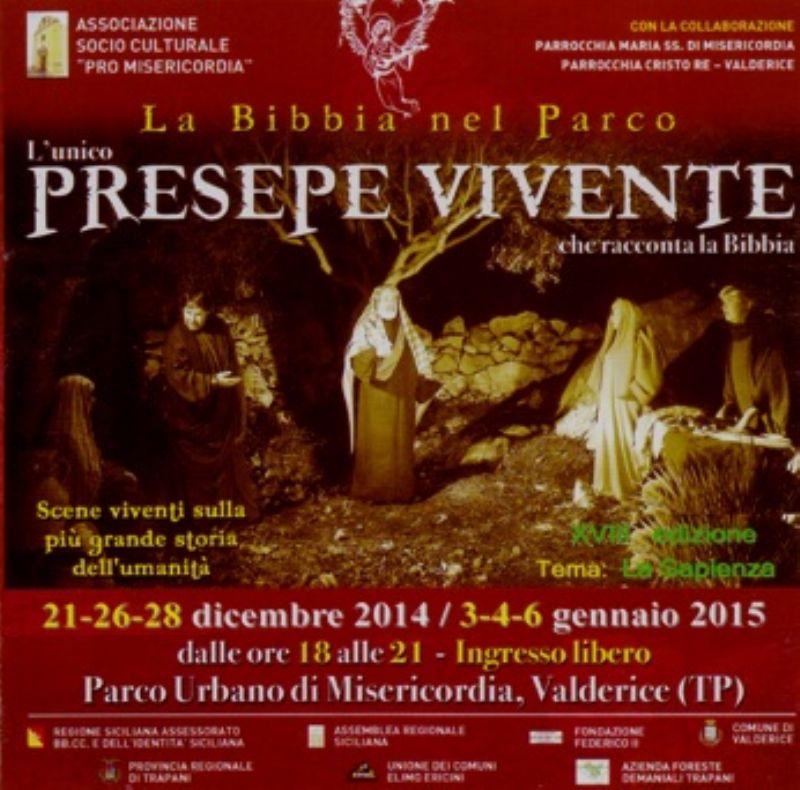VALDERICE (TP) : PRESEPE VIVENTE