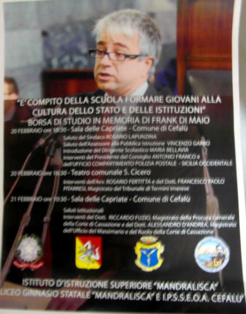 Mandralisca, Cittadini `Leg... ali` col magistrato Frank Di Maio