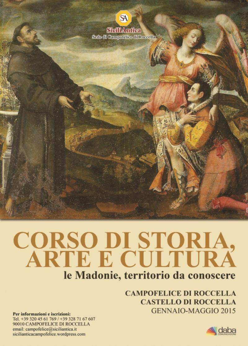"""SiciliAntica Campofelice organizza il I Corso di Storia, Arte e cultura """"Madonie, territorio da conoscere"""""""