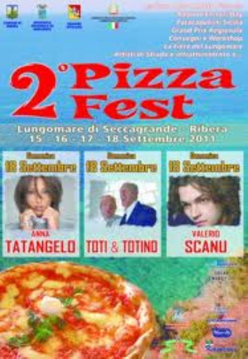 """RIBERA (AG) - """"Pizza Fest"""" oggi l`inaugurazione con Anna Tatangelo"""