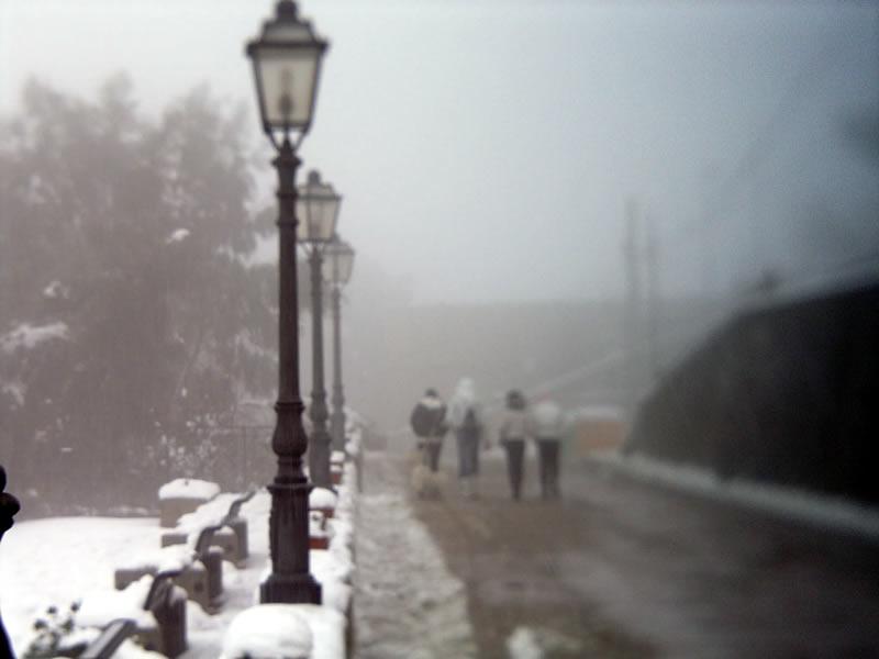 Alia, ondata di freddo e neve