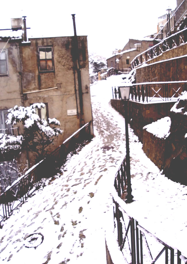 Alia. E' arrivata la neve
