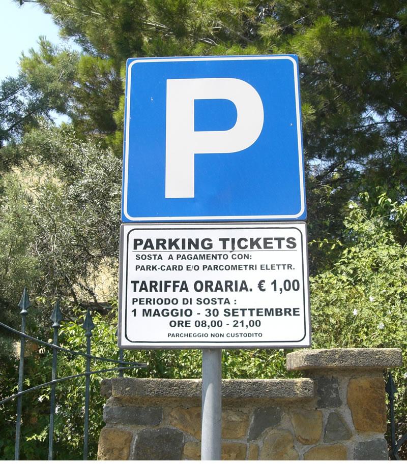 Parcheggio NO problem...ci pensa il Comune