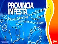 SESTA EDIZIONE DELLA FESTA DELLA PROVINCIA DI PALERMO
