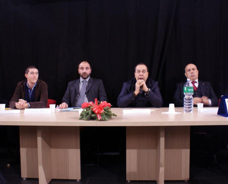 Premiazione Terza Edizione Presepolis, sei Gennaio 2014 Alia sala congressi contrada Craparella.