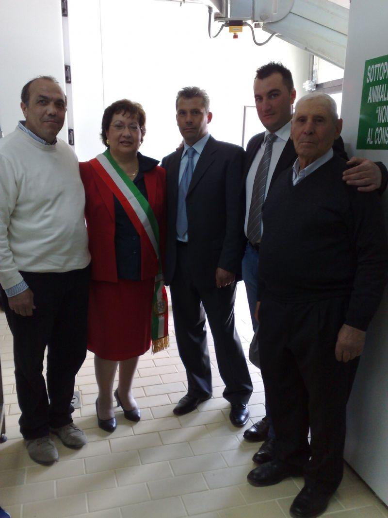 """Valledolmo: Inaugurazione dello stabilimento""""Fattorie  siciliane associate"""""""