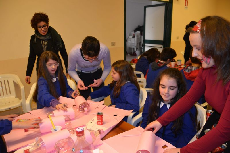 CASTRONOVO DI SICILIA (PA): �Riciclart�: per sensibilizzare al riciclaggio dei rifiuti