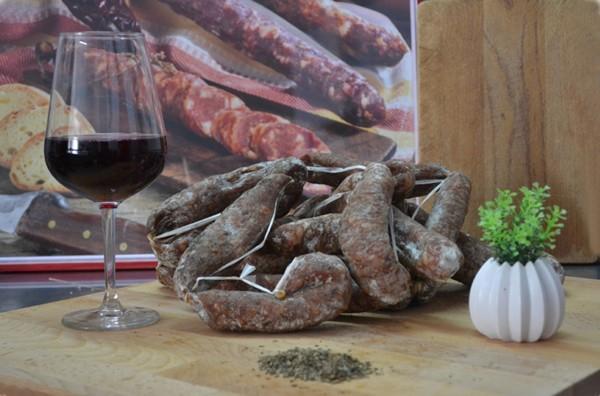 Salsiccia essiccata senza allergeni