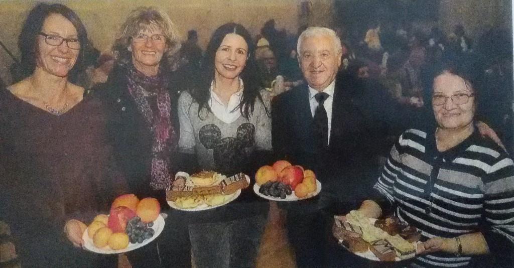 Festa di Natale per i poveri a Kassel