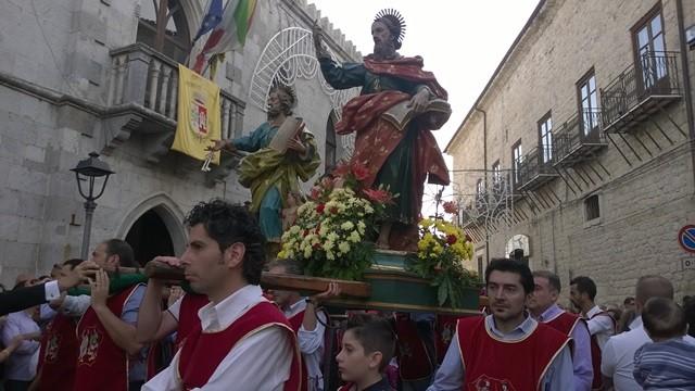 PETRALIA SOPRANA FESTEGGIA GLI APOSTOLI PIETRO E PAOLO