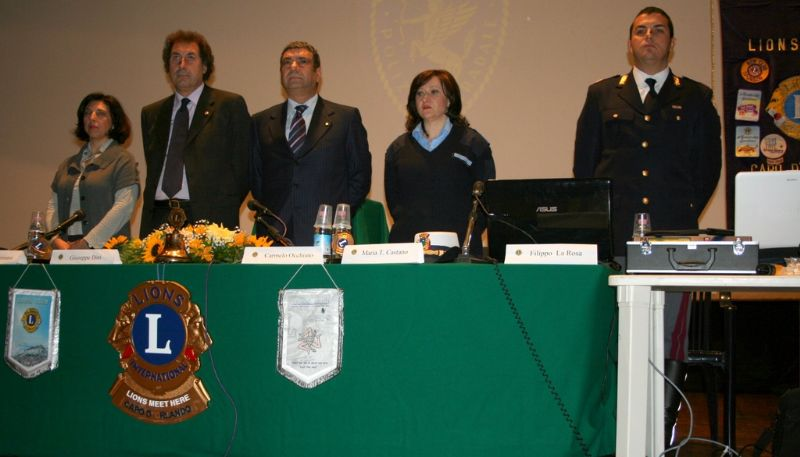 """CAPO D`ORLANDO - Conferenza sulla """"Sicurezza stradale"""""""