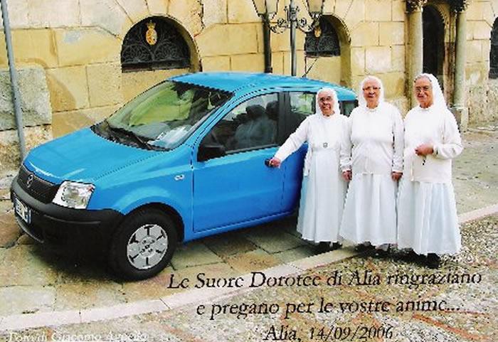 Donata una automobile alle Suore Dorotee di Alia