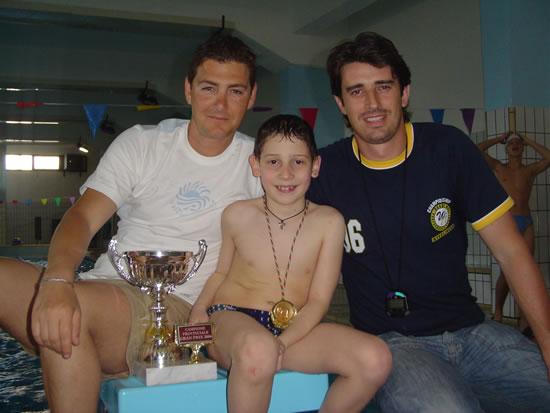 Nuoto, un bambino di Alia vince 4 titoli al torneo provinciale.