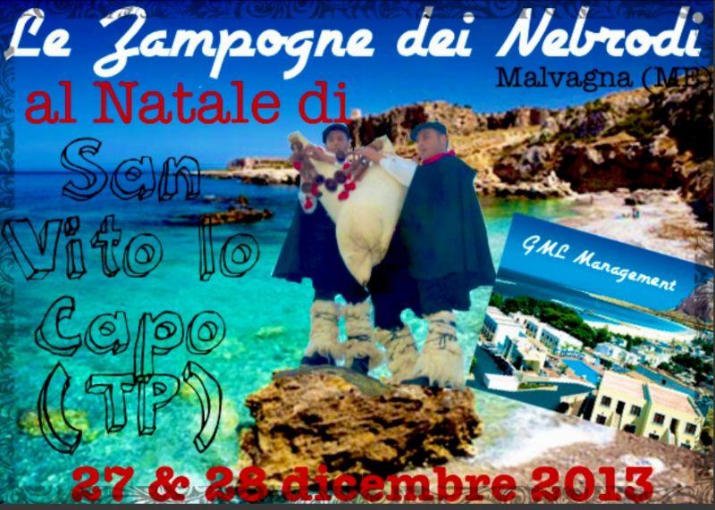 """Le """"Zampogne dei Nebrodi"""" a San Vito Lo Capo"""