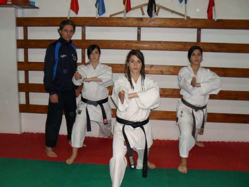 Cerda:Nina Emanuela Imburgia tra i  primi cinque posti per la qualificazione del torneo nazionale di Shotokan Karate