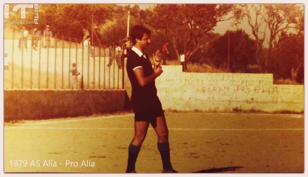 L`Arbitro CAN/D Lorenzo Bellavia  - ricordi 1979-